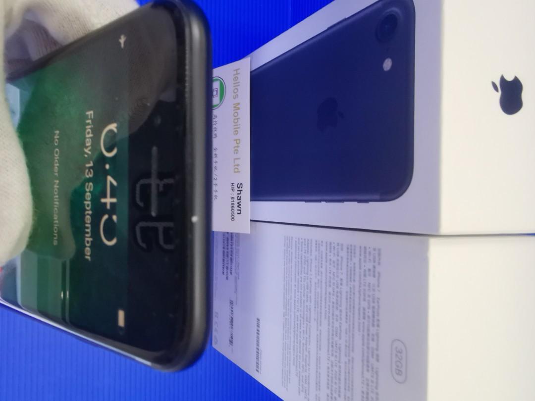 Iphone 7 32gb matt black(used)