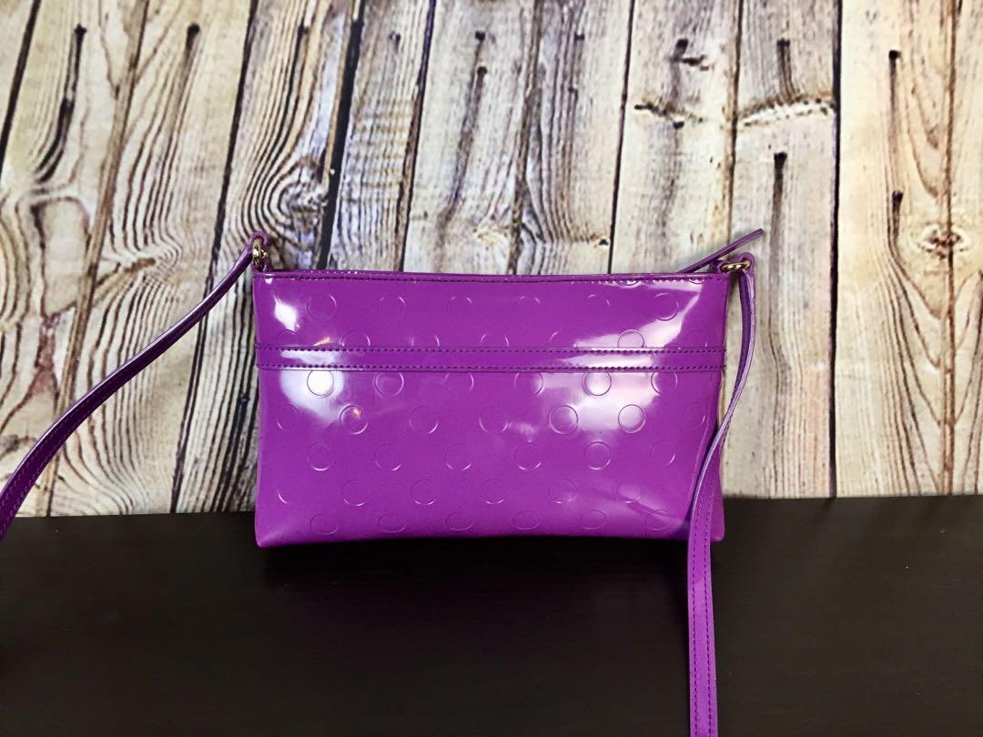 New Listing - Kate Spade Pochette Amy Camelia Street Bag.