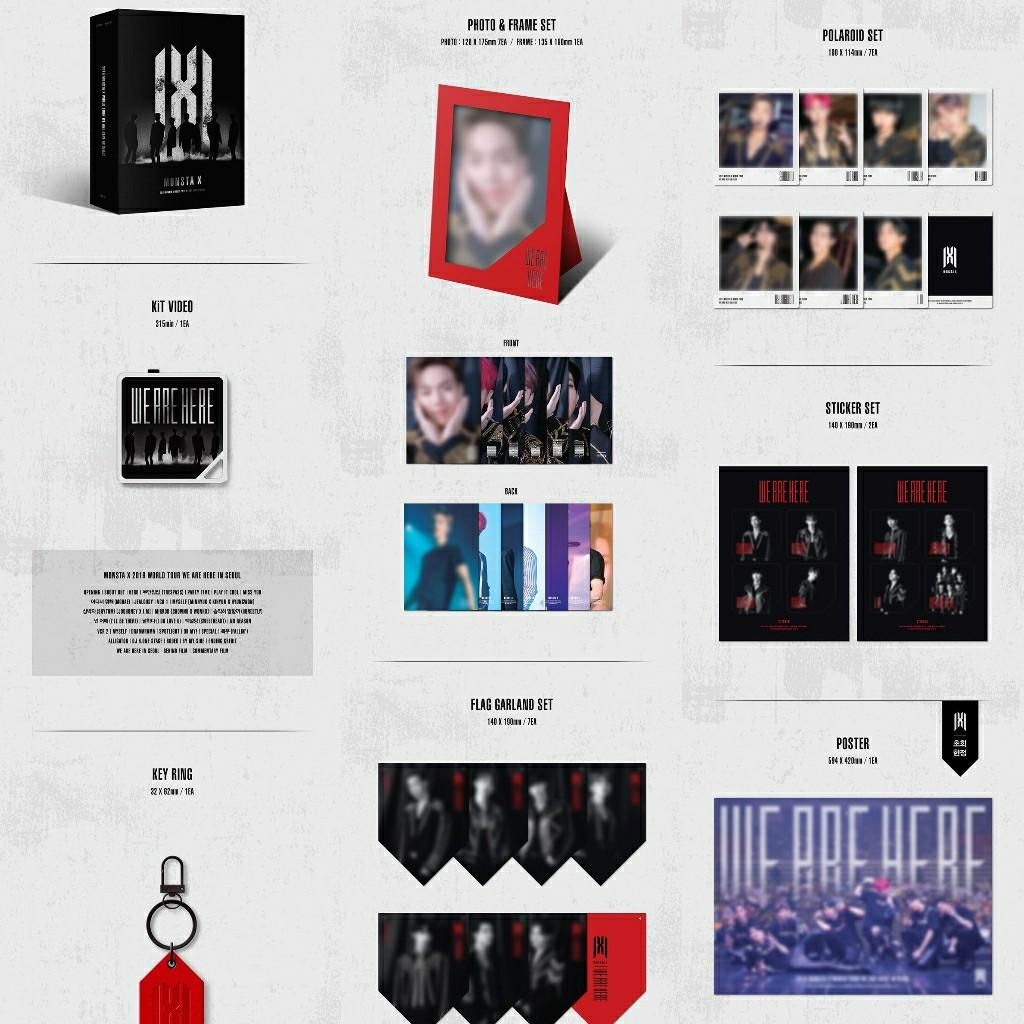 [KIT VIDEO] 2019 MONSTA X WORLD TOUR [WE ARE HERE] IN SEOUL
