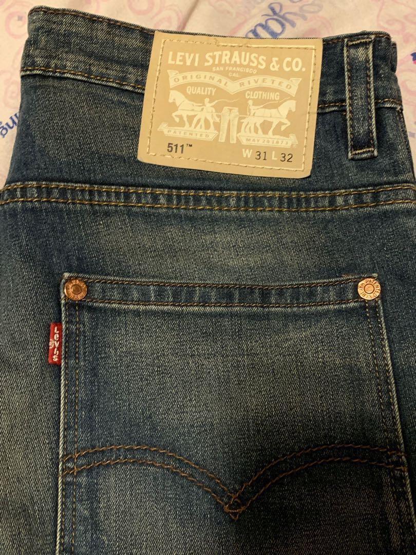 Levi's 511藍色牛仔褲