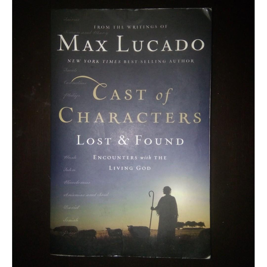 Max Lucado Cast of Characters Common People in the Hands of an Uncommon God (Christian Devotional Book)