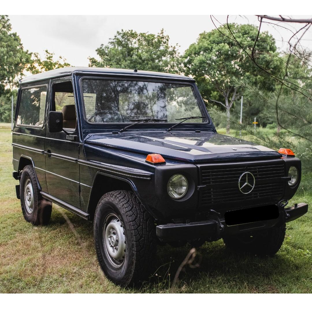 Mercedes 300GD 5-Speed MANUAL