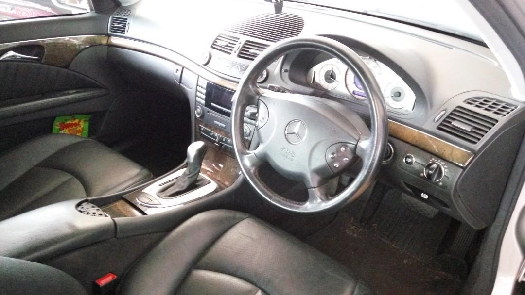 Mercedes E240 Avantgarde 2.6L V6 UK Spec 2003/2015