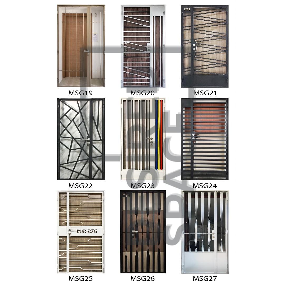 Mild Steel Door Gate - $468/$568 PROMO!