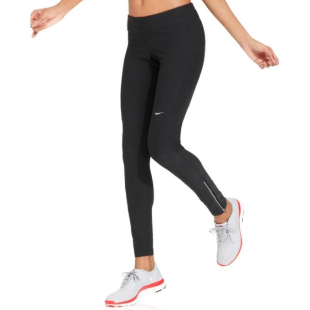Nike Dri Fit Ankle Zip Tights XS