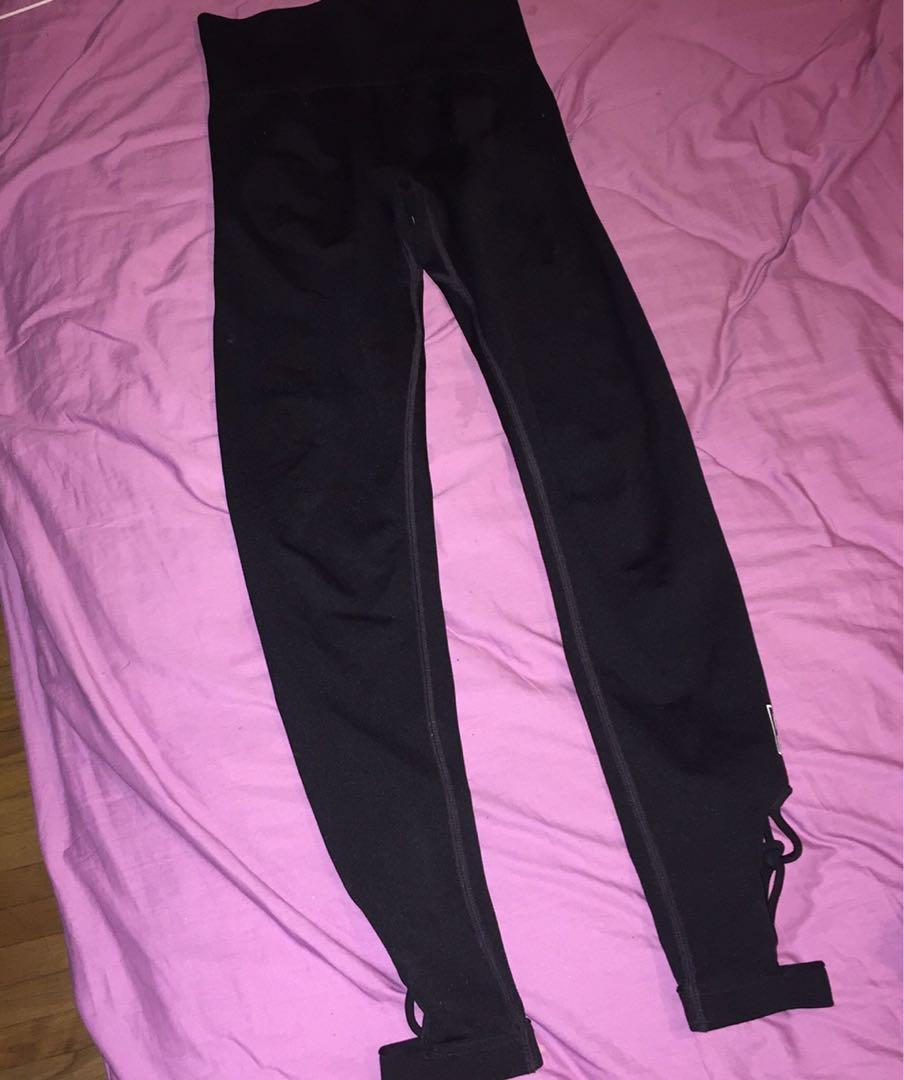 PINK Victoria's Secret Ultimate black leggings szXS