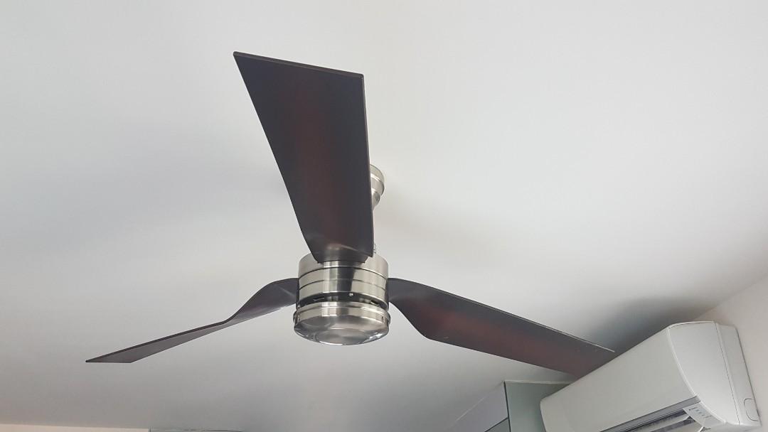 "Premium ""Hunter"" ceiling fan"