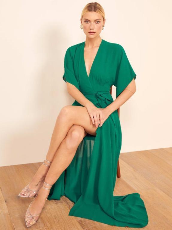 Reformation Winslow Serpentine dress - size medium