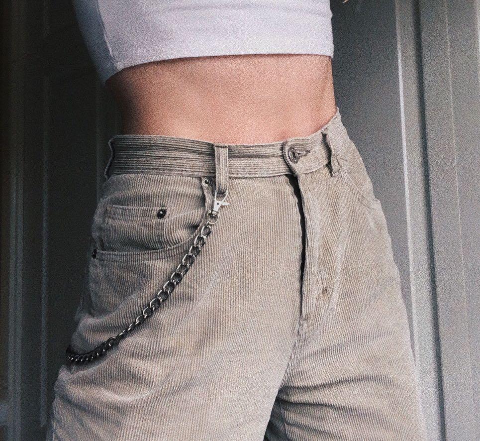 Rock Punk Wallet Chain Jeans Fashion Hype Readystock