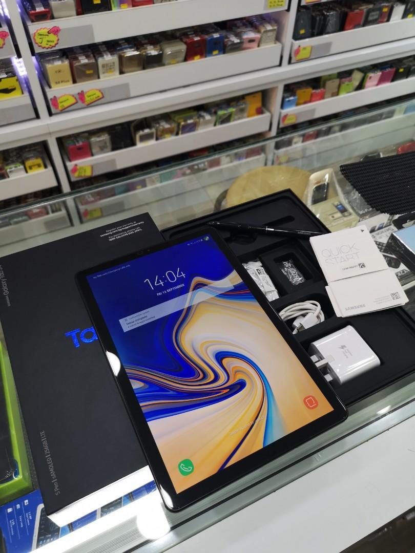 Samsung Tab S4 LTE 256GB Black #Perfect Condition 👍