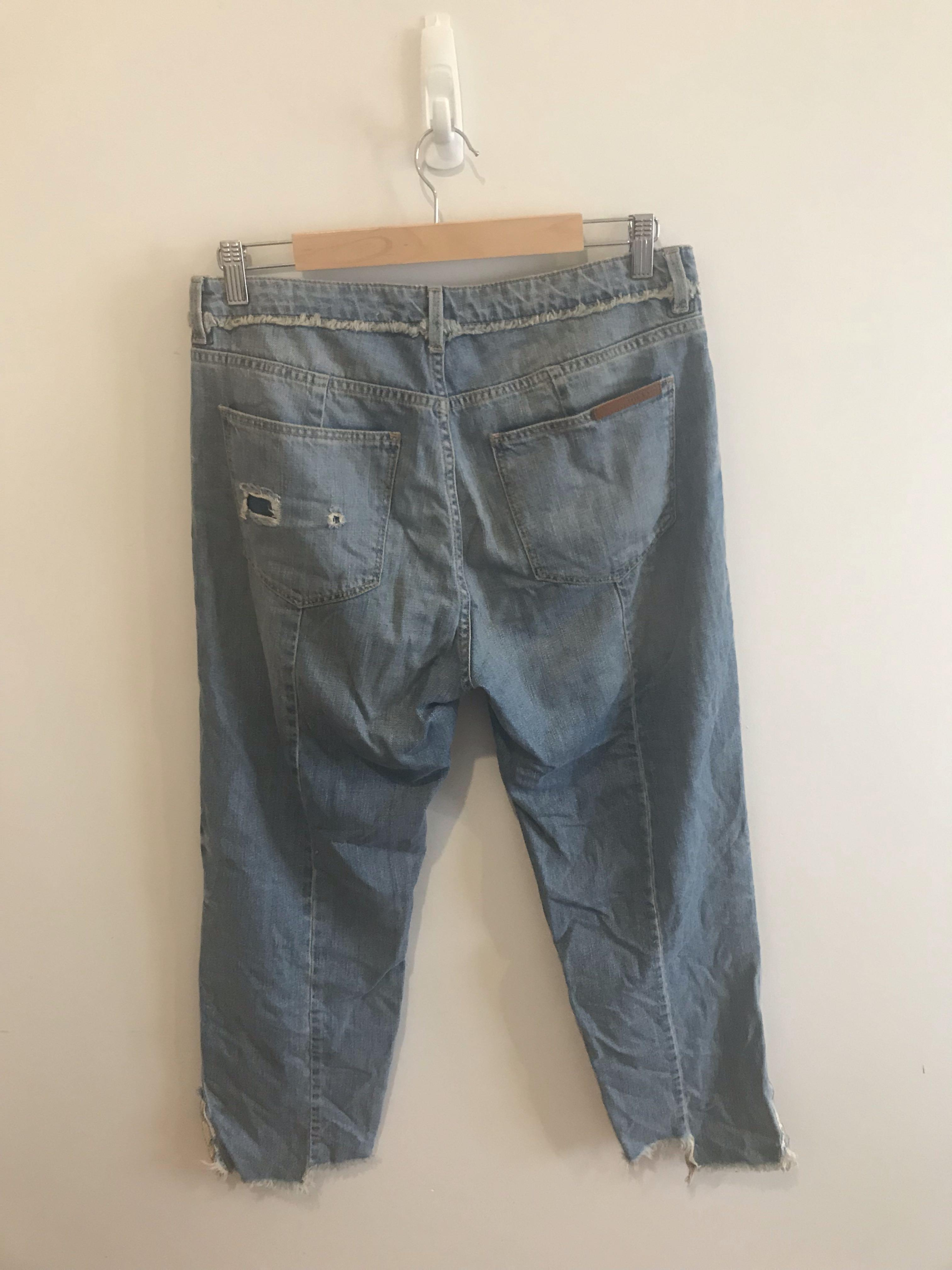 Sass & Bide - relaxed jeans size 12