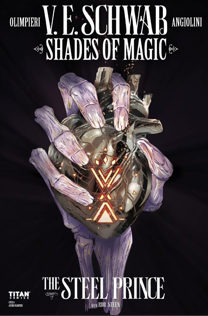 Shades of Magic Vol. 1: The Steel Prince Graphic Novels by V.E. Schwab, Andrea Olimpieri (E-Comics)