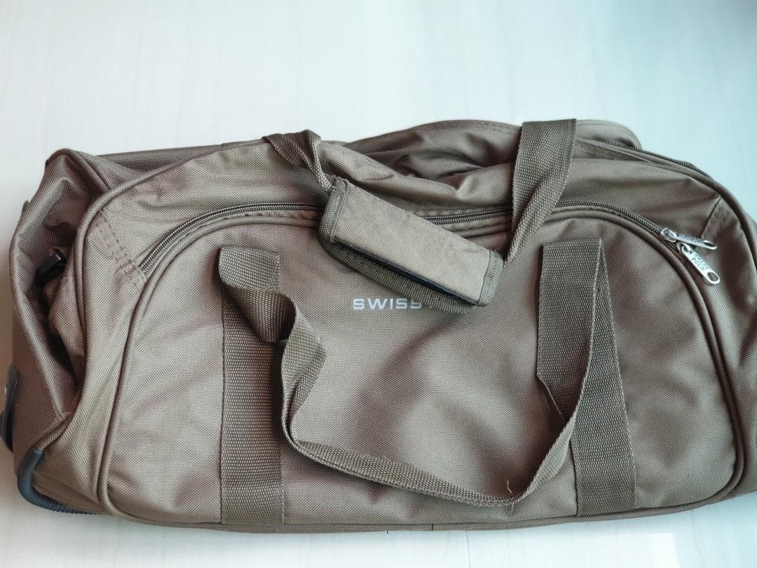 Swiss Polo Trolley Duffle Bag