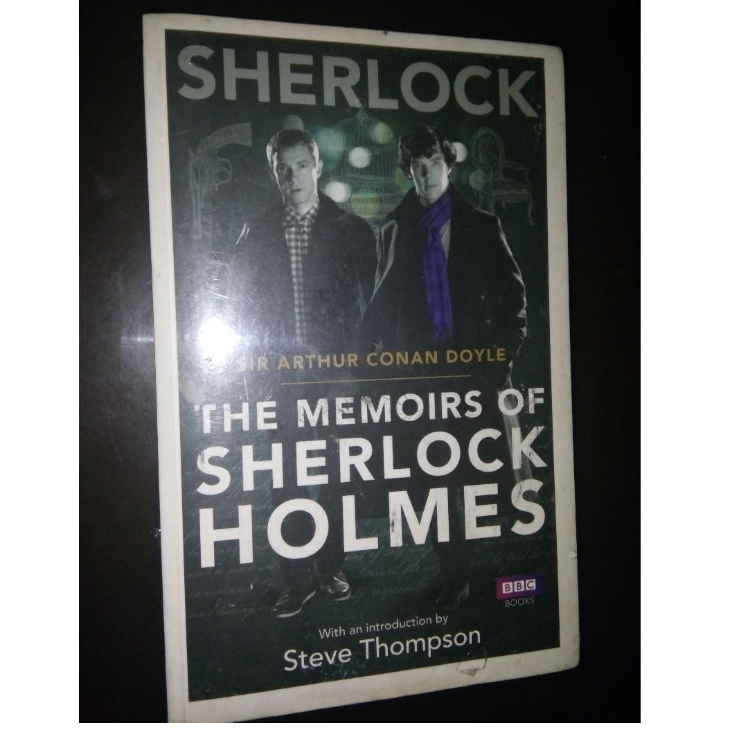 The Memoirs of Sherlock Holmes (Fiction / Literature / Adventure / Short stories / Mysteries Book)