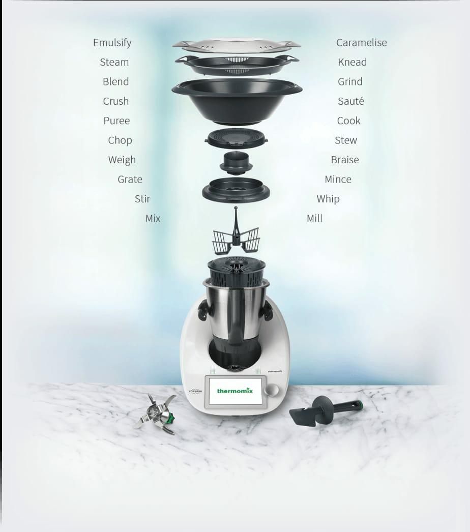 Cooking Chef Ou Thermomix Avis thermomix tm6 (pre-order special price), home appliances