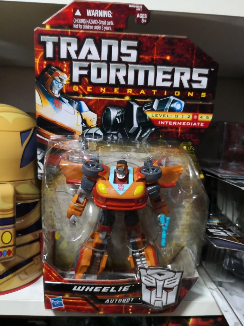 Transformers Generations wheelie