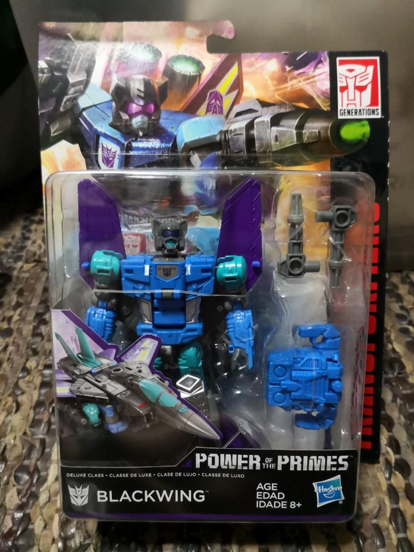 Transformers power of the prime Blackwing