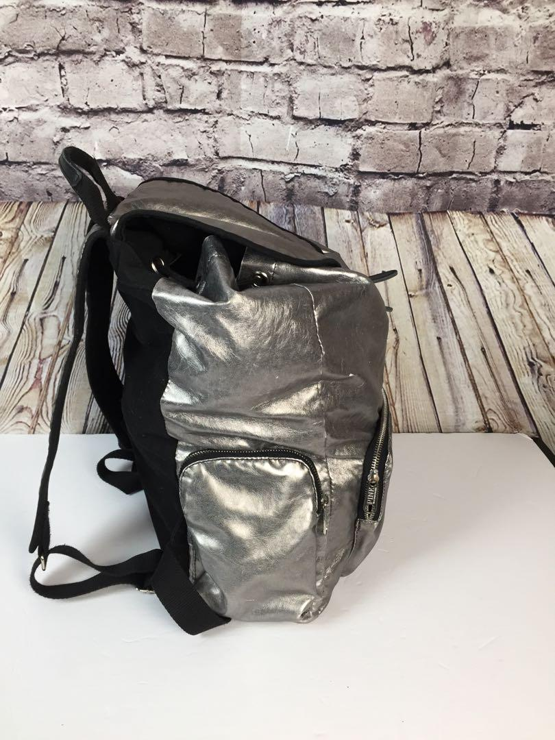 Victoria's Secret Pink Backpack black/Metallic Bag