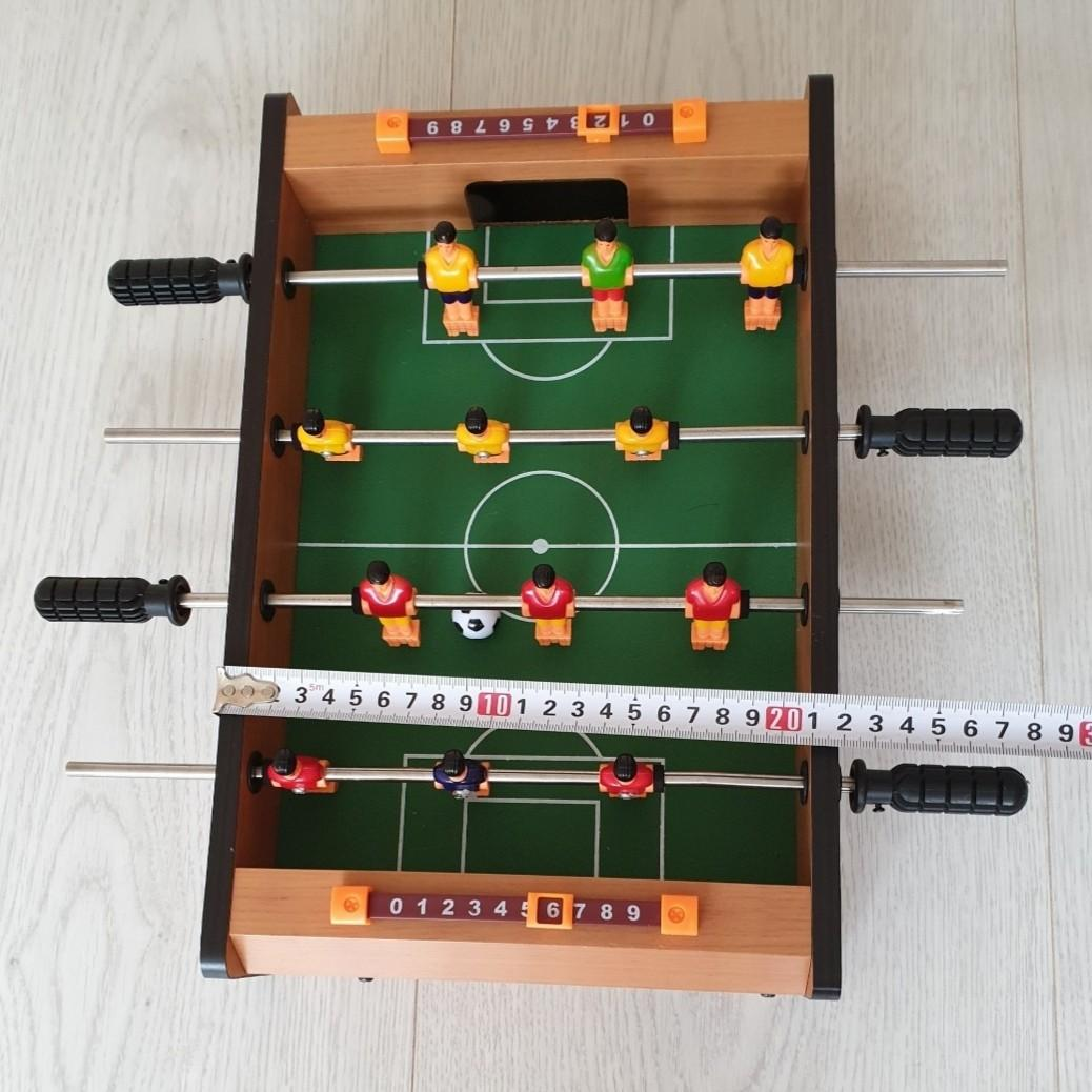 Wooden Table Soccer Football Foot Ball Children Kids - 2 Players Toy