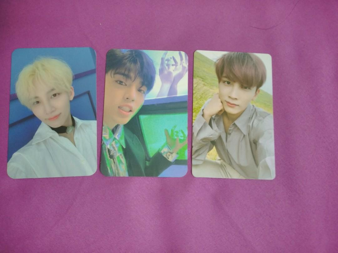 [WTS/WTT] SEVENTEEN ALBUM PHOTOCARD JEONGHAN AND SCOUPS