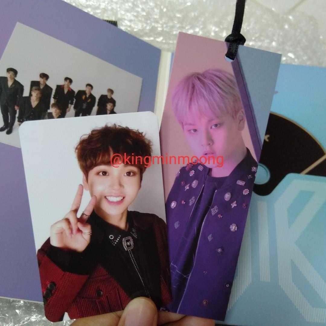 [WTT] X1 Nam Dohyun BOOKMARK , Song Hyeongjun AR CARD (Quantum Leap Ver.)