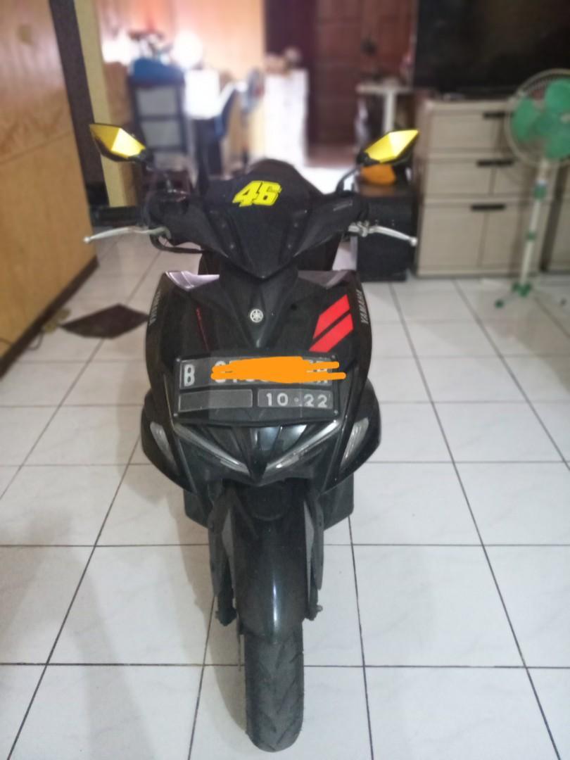 Yamaha aerox 155 vva 2017 black