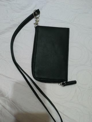 黑色手拿小包 手機掛包 零錢包