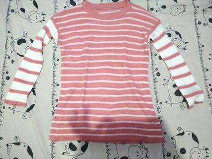 Sweater  Pink Combi