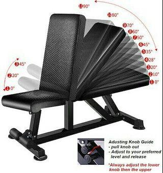FREE DELIVERY Home Gym Workout Bench