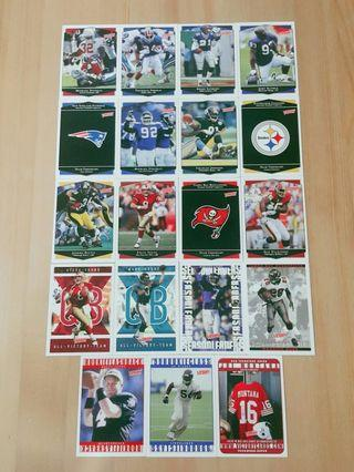 1999 Upper Deck Victory American Football Cards