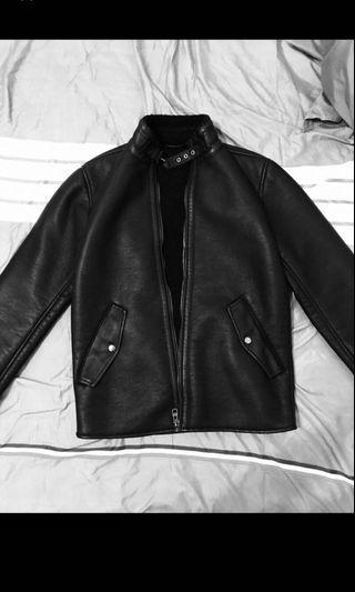 Esprit 皮外套