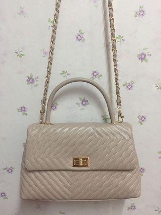 Christy Ng Felix brown beige Handbag