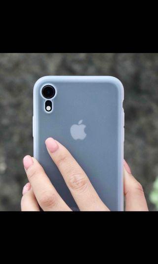 Uniu。Si超薄透明矽膠殼。iPhone XR