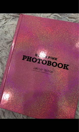 Blackpink limited edition photobook