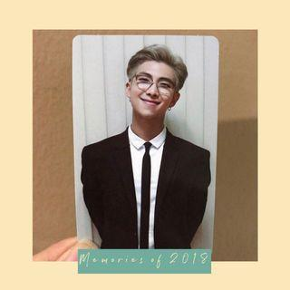 [WTT/WTS]  BTS Memories of 2018 RM to TAEHYUNG photocard