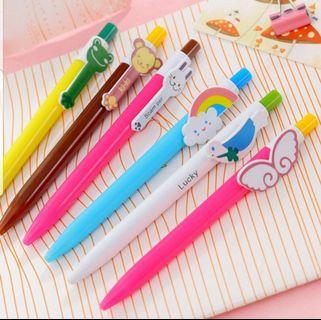 Children Day Gift, Korean Character Pen, Stationery, Birthday, Christmas, Cute, Party, Gifts, Goodie Bag