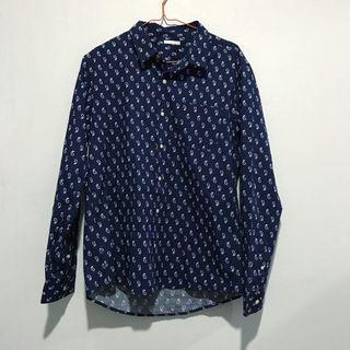 Cotton On Shirt Amoeba Pattern MEN