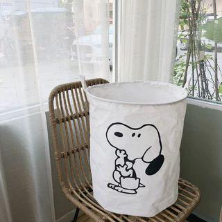 【預購】史努比收納籃 洗衣籃