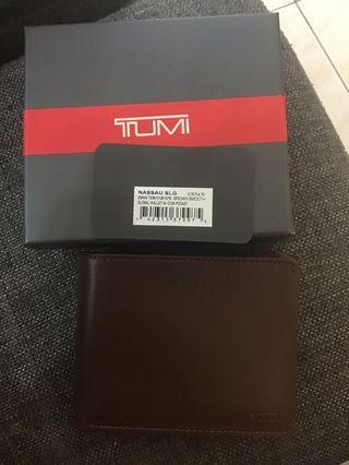 Tumi Wallet Brown