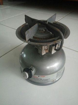 Coleman camping stove dual fuel 533