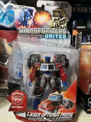Transformers Optimus Prime laser united