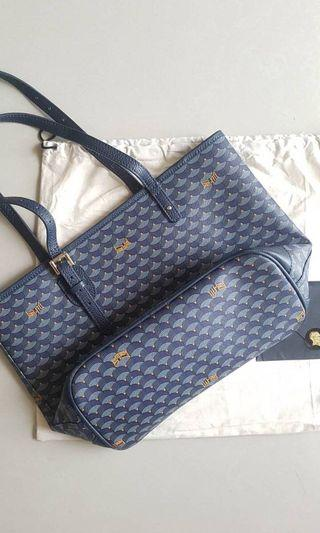 Faure le page flp daily battle pm navy tote mirror vip