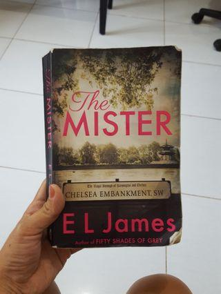 The Mister by E L James. Novel Import English book dr pengarang Fifty Shades of Grey