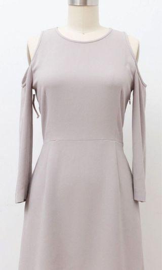 Aritzia Cold Shoulder Dress
