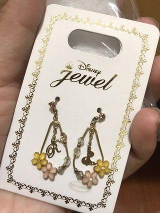 日本購入 迪士尼耳環 阿拉丁