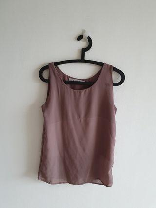 Ladies Sleeveless Top Blouse(2pc mailed)