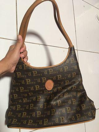 Tas pony authentic . Original auth pony brand