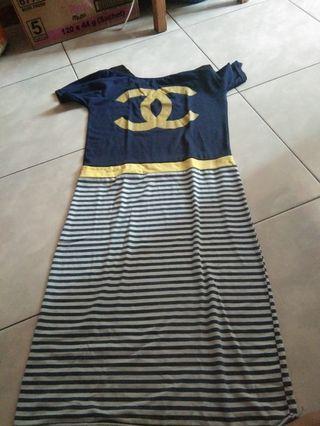Murah meriah Dress chanel
