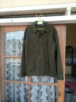 Jakcket Coverall Paperfeed Green