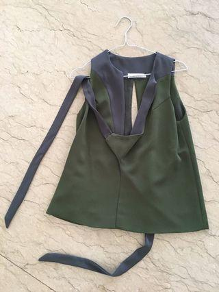 AMANDA RAHARDJO green vest top S